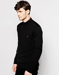 Peter Werth Turtle Neck Jumper Black