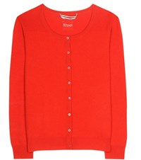 81 Hours Cassie Cashmere Cardigan Red