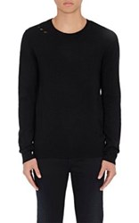 Iro Men's Petroi Wool Blend Sweater Black