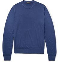 Berluti Wool Sweater Blue