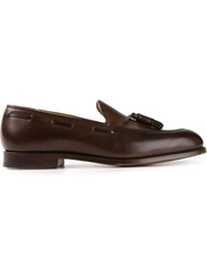 Crockett Jones Crockett And Jones Tasselled Loafers Brown