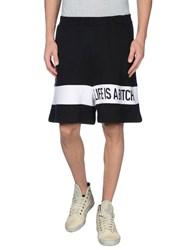 Ejxiii Trousers Bermuda Shorts Men Black