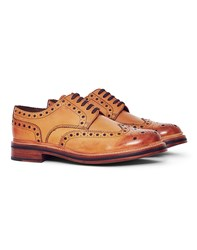 Grenson Archie Leather Brogue Tan