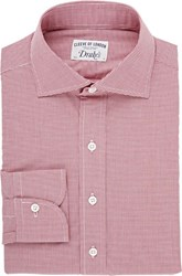 Drakes Drake's Dress Shirt Red