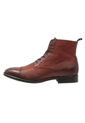 Zign Laceup Boots Brown