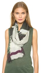 Yigal Azrouel Drive With Jagger Scarf Jet Multi