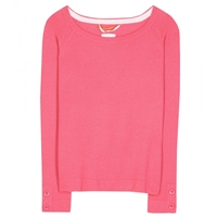 Dear Cashmere Cashmere Sweater Pink Lemonade