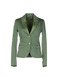 Manuel Ritz Suits And Jackets Blazers Women Green
