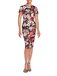 Alexia Admor Floral Printed Bodycon Dress