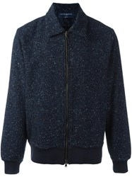 Natural Selection 'Zebedee Londra' Zip Jacket Blue