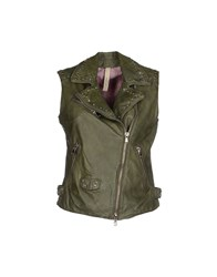 Le Sentier Coats And Jackets Jackets Women Emerald Green
