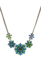Konplott Dahlia Necklace Blue Green