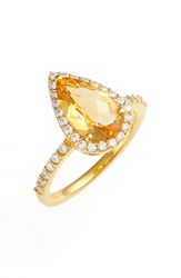 Women's Lafonn 'Aria' Pear Cut Ring