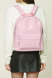 Forever 21 Holographic Backpack Pink Multi