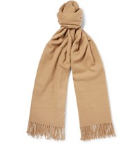 Acne Studios Canada Virgin Wool Scarf Brown