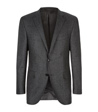 Corneliani Extra Fine Wool Jacket Male Grey
