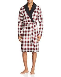 Ugg Kalib Plaid Robe Plaid Timeless Red