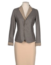 Sucre Suits And Jackets Blazers Women Grey