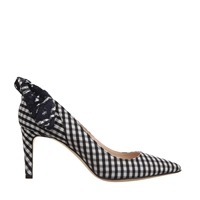 Carven Court Shoes Black White