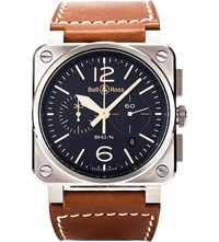 Bell And Ross Bro394 Golden Heritage Watch