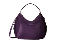 Lipault Paris Hobo Bag M Purple Hobo Handbags