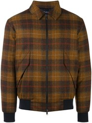 Natural Selection 'Beaufort Hawthorn' Bomber Jacket Brown