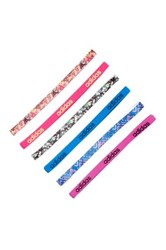 Adidas Fighter Graphic Hairband Pack Of 6 Pink