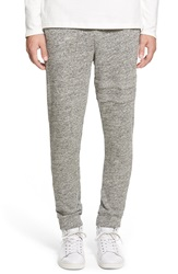 Azul By Moussy Melange French Terry Jogger Pants Grey