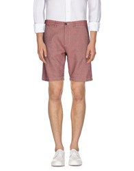 Myths Trousers Bermuda Shorts Men Red