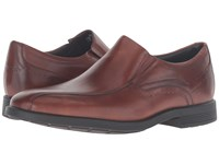 Rockport Dressports Business Bike Toe Slip On New Brown Men's Shoes