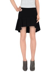 Mangano Skirts Mini Skirts Women Black