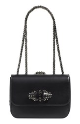 Christian Louboutin 'Small Sweet Charity' Spiked Bow Flap Shoulder Bag