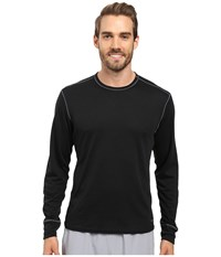 Hot Chillys Double Layer Crew Neck Black Men's Clothing
