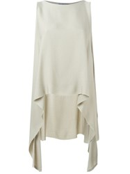 Dusan 'Mantellina' Top Nude And Neutrals