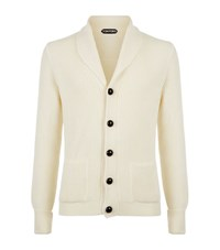 Tom Ford Chunky Steve Mcqueen Cardigan Male Cream
