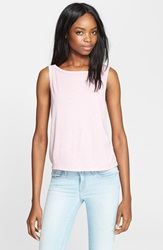 Enza Costa Scoop Back Tissue Jersey Tank Zephyr