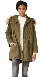 J.O.A. Parka Army Green