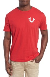 True Religion Men's Brand Jeans 'Crafted With Pride' Graphic T Shirt