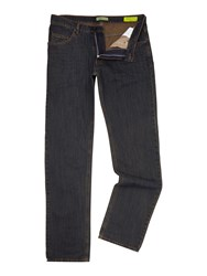 Versace Regular Fit Rinse Wash Jeans Denim Rinse