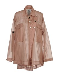 Uniqueness Coats And Jackets Jackets Women Skin Color