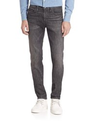 Frame The Signature Straight Leg Jeans Grey