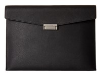 Jack Spade Barrow Leather Portfolio Black Bags
