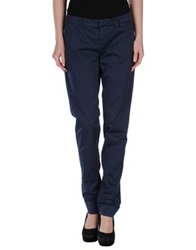 Cesare Paciotti 4Us Casual Pants Dark Blue