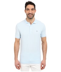 Lacoste Stretch Petit Piqu Slim Fit Polo Rill Men's Short Sleeve Pullover Blue
