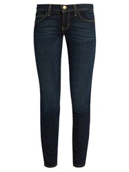 Current Elliott The Stiletto Mid Rise Skinny Jeans Indigo
