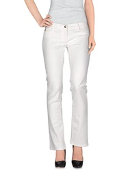 Betty Blue Casual Pants White