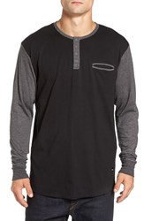 Imperial Motion Men's 'Salvage' Long Sleeve Henley