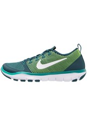 Nike Performance Free Train Versatility Sports Shoes Midnight Turquoise White Rio Teal Hyper Jade Volt