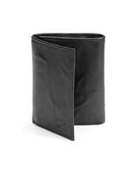 William Rast Trifold Leather Wallet Black