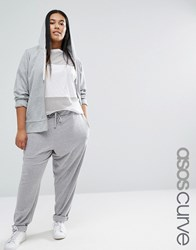 Asos Curve Super Slouch Jogger Grey
